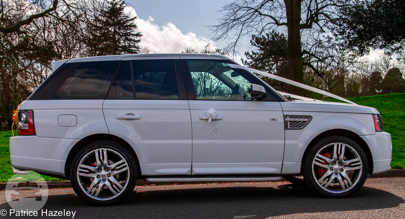 Range Rover Sport (X3 in White) Sedan  / Stansted CM24 8JT, UK   / Hourly £0.00