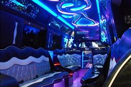 Pink Starline Party Bus Party Limo Bus  / London Borough of Tower Hamlets, UK   / Hourly £0.00