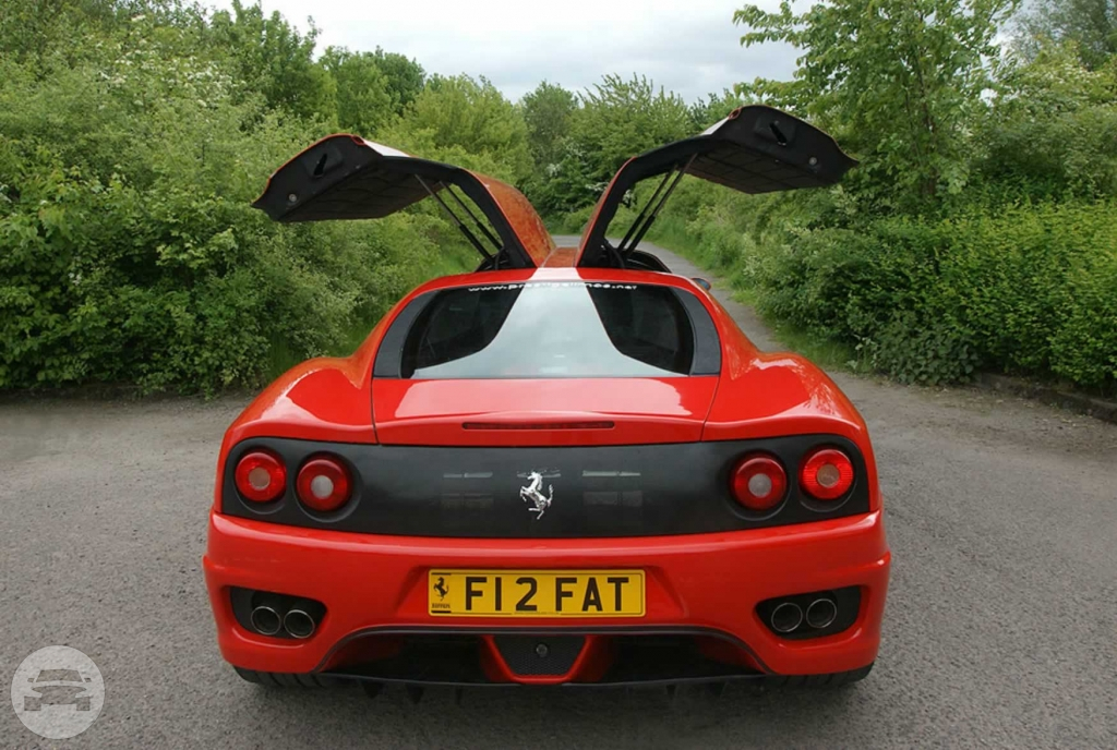 Red Ferrari Limo Limo  / Potters Bar, UK   / Hourly £0.00
