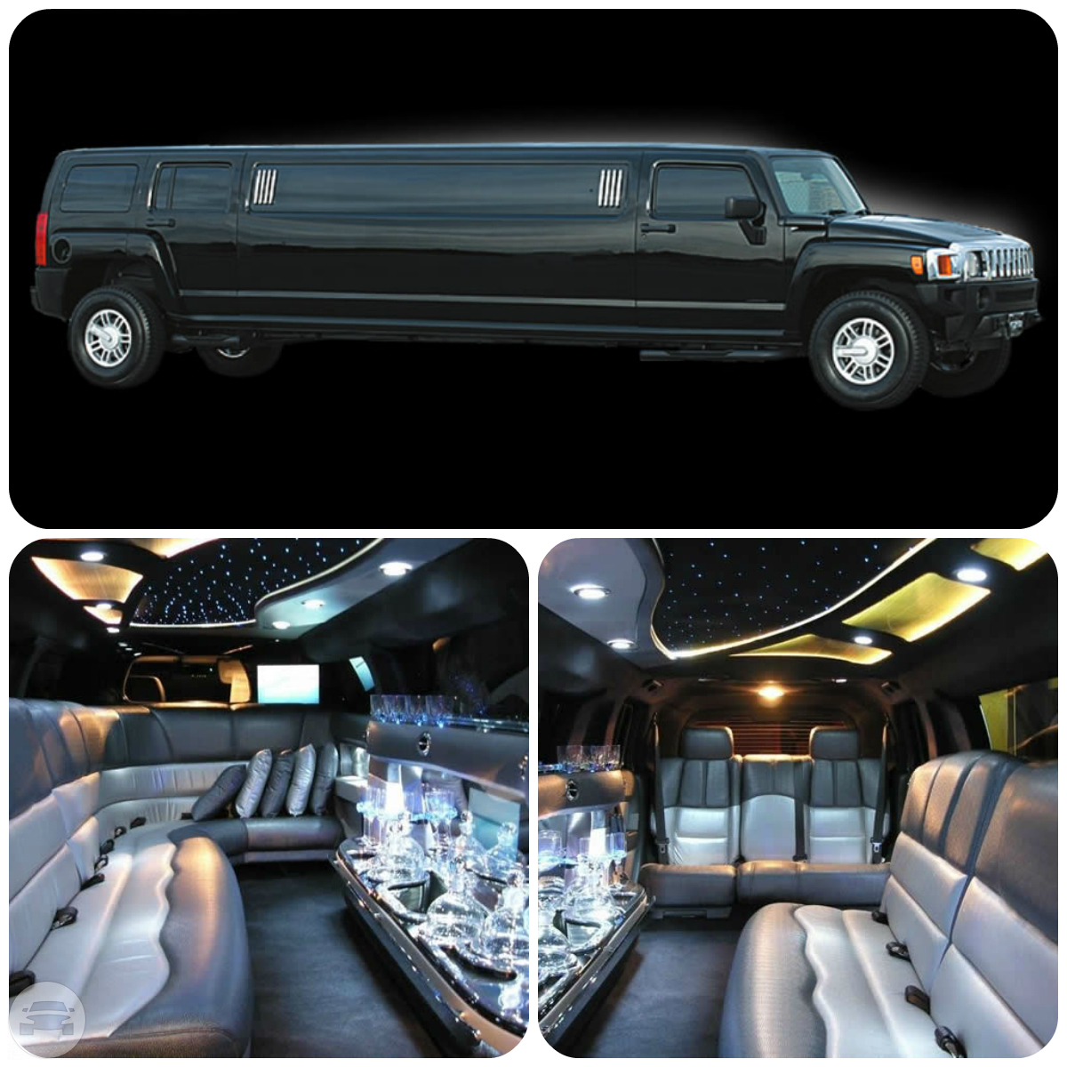 Black Hummer H3 Limousine Limo  / London, UK   / Hourly £0.00