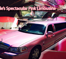 Pink Lincoln Limousine Limo / London Borough of Sutton, UK   / Hourly £0.00