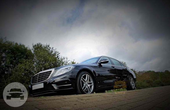 Black Mercedes S Class Sedan  / Royal Borough of Kensington and Chelsea, London   / Hourly £0.00