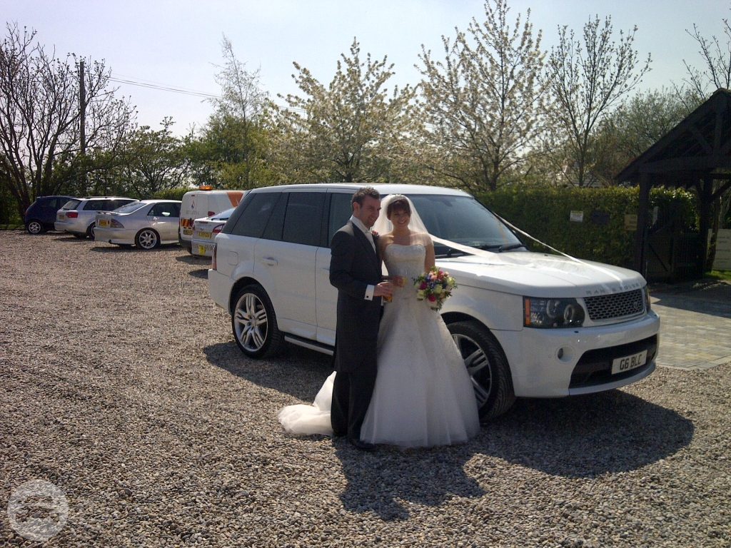 Range Rover Sport (X3 in White) Sedan  / Harwich, UK   / Hourly £0.00