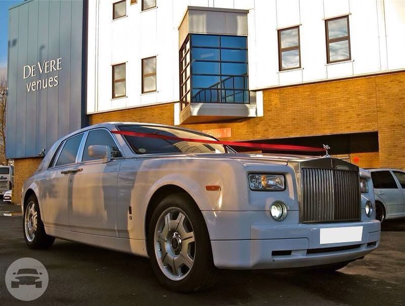 Rolls Royce Phantom (In White) Sedan / Harwich, UK   / Hourly £0.00