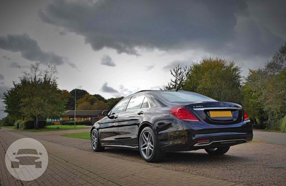 Black Mercedes S Class Sedan  / London Borough of Wandsworth, London   / Hourly £0.00