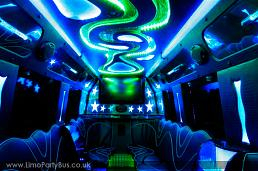 Pink Starline Party Bus Party Limo Bus  / Bexley, UK   / Hourly £0.00
