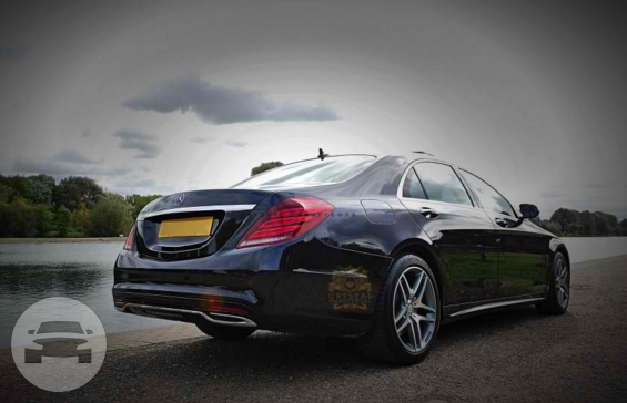Black Mercedes S Class Sedan  / Brentwood, UK   / Hourly £0.00