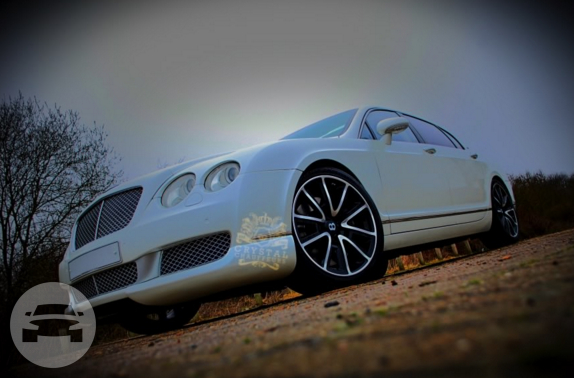 White Bentley Continental Flying Spur Sedan / Slough, UK   / Hourly £0.00