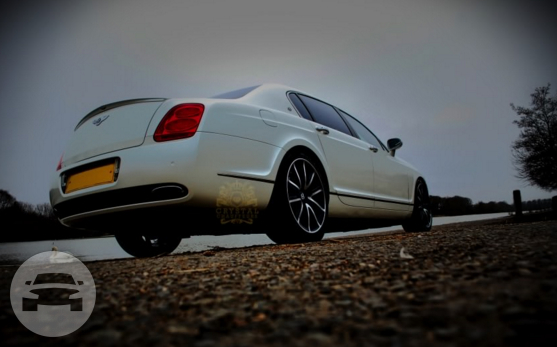 White Bentley Continental Flying Spur Sedan / Chigwell, UK   / Hourly £0.00